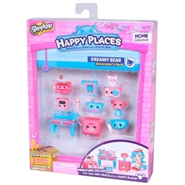 Happy Places, Shopkins S1 - Decorator Pack - Dreamy Bear