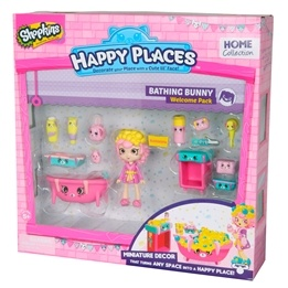 Happy Places, Shopkins S1 - Welcome pack - Bathing Buny