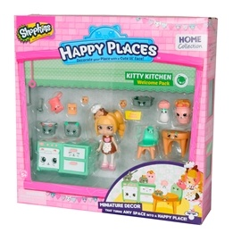 Happy Places, Shopkins S1 - Welcome pack - Kitty Kitchen
