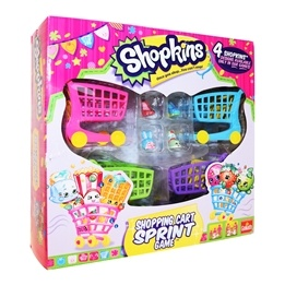 Shopkins, Barnspel - Shopping Cart Sprint
