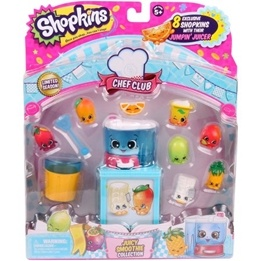 Shopkins, Chef Club S6 8+4-pack - Juicy Smoothie