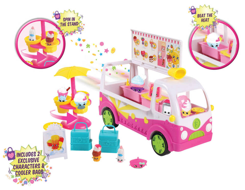 shopkins serie 3 food fair scoop ice cream truck. Black Bedroom Furniture Sets. Home Design Ideas