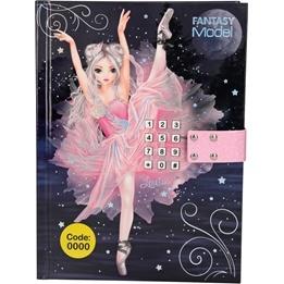 TOPModel Fantasy Dagbok med kod och musik Balett