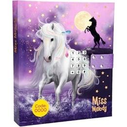 Miss Melody, Dagbok med kod & musik lila