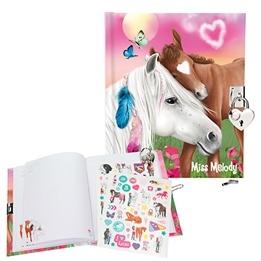 Miss Melody, Dagbok med klistermärken hästar