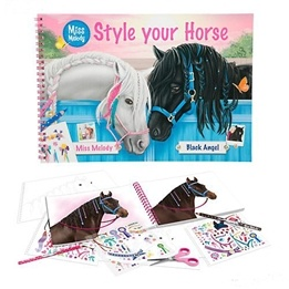 Miss Melody, Målarbok - Style your horse