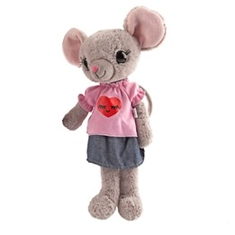 House of Mouse, Mjukdjur 35 cm - Mamma Mus