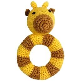 NatureZoo, Rund skallra Giraf gul