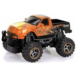 New Bright 1:24 Dragon Pick Up Orange