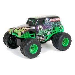 New Bright, Monster Jam, Grave Digger, 40 Mhz 1:24