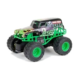 New Bright, Monster Jam, Grave Digger, 27 Mhz 1:43