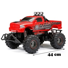 New Bright, RC Chargers Dodge RAM Röd, 44 cm 2,4 GHz