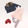 Our Generation, Dockkläder - Jacka med pälskrage & klänning