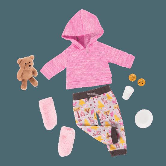 Our Generation, Dockkläder - Deluxe Pyjamas med björn