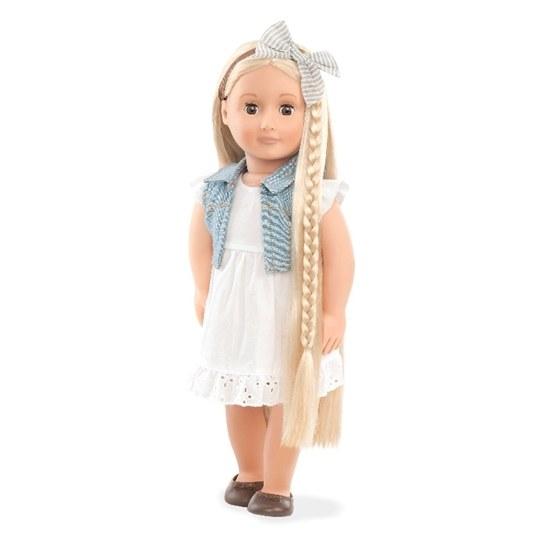Our Generation, Phoebe med hårförlängning 46 cm