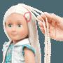 Our Generation, Pearl Docka 46 cm med hår som växer