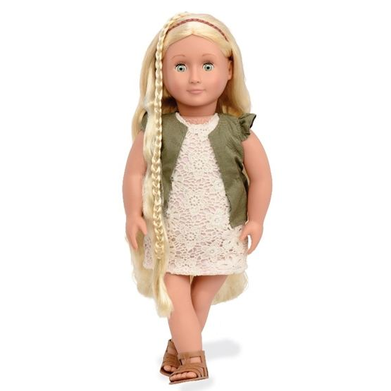 Our Generation, Pia Docka 46 cm med hår som växer
