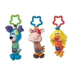Playgro, Vagnsleksak 3-pack