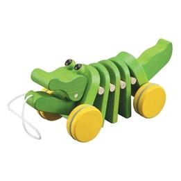 PlanToys, Dragdjur, Dansande Alligator