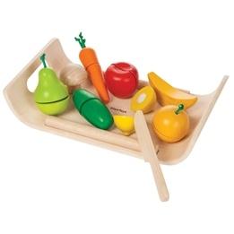 PlanToys, Lekmat Frukt & Grönsaker