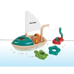 PlanToys, Vattenlek, Fiskebåt