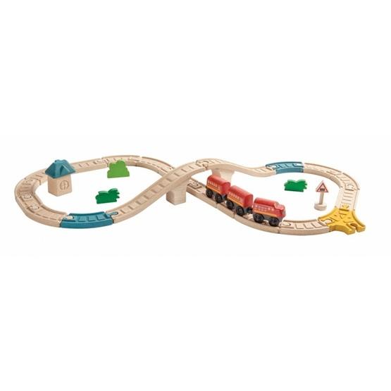 PlanToys, Tågbanor Järnvägsåtta