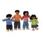 PlanToys, 7416 Dockhus familj 4 st