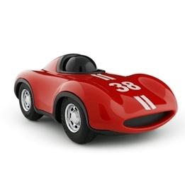Playforever, Le Mans Racerbil Röd 17 cm