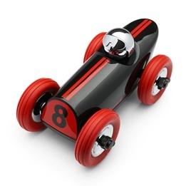 Playforever, Buck Racerbil Röd & Svart 20 cm