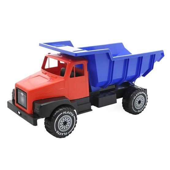 Plasto, Stora Plasto-lastbilen 60 cm, Röd
