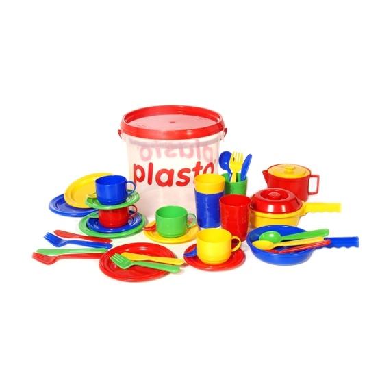 Plasto, Hink med köksleksaker, 39 delar