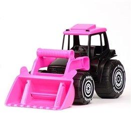 Plasto, Traktor med skopa - Svart