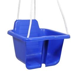 Plasto, Babygunga med rep, Blå