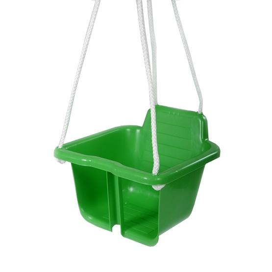 Plasto, Babygunga med rep, Grön