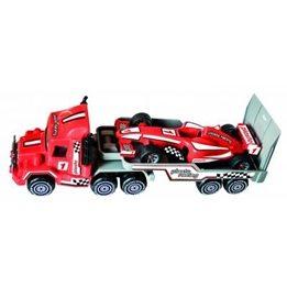 Plasto, Trailer med Formula1 bil - Röd