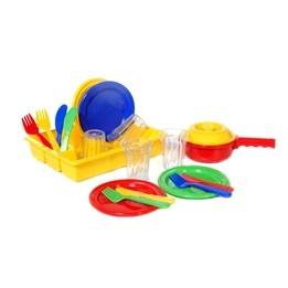 Plasto, Middagsservis i diskställ, 19 delar