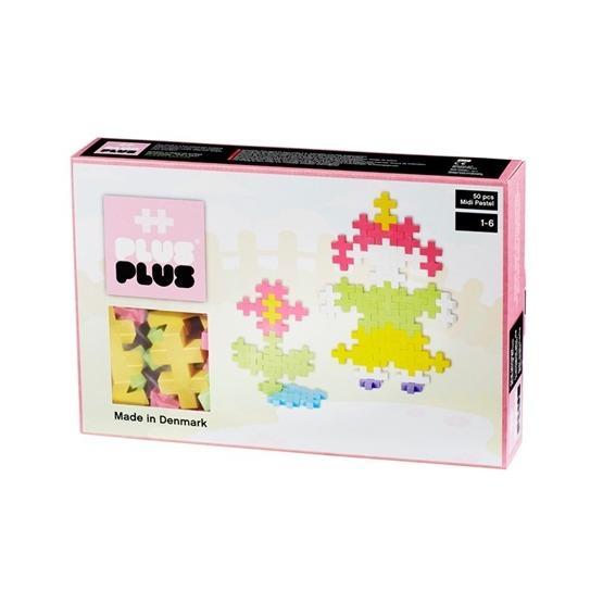 Plus Plus, Midi Pastel 50 delar