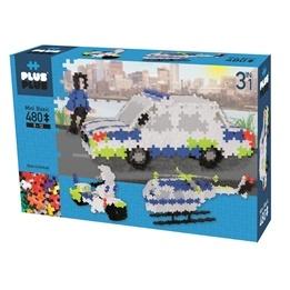 Plus Plus, Mini Basic 3-i-1 Police 480 st