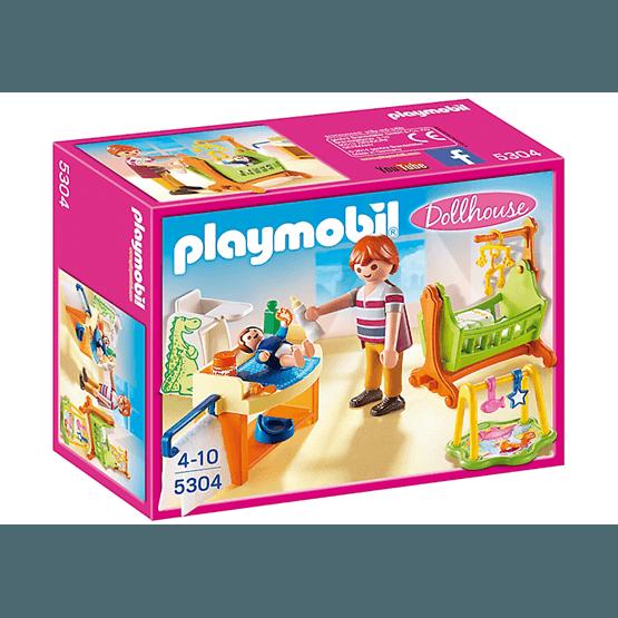 Playmobil Dollhouse, Barnkammare med vagga