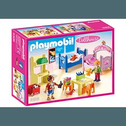 Playmobil Dollhouse, Färgglatt barnrum