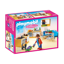 Playmobil Dollhouse, Lantligt Kök