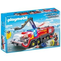 Playmobil City Action 5337, Flygplatsbrandbil med ljud och ljus