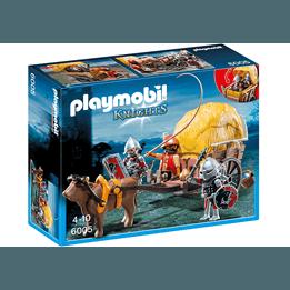 Playmobil Knights 6005, Falkriddare med kamouflerad vagn