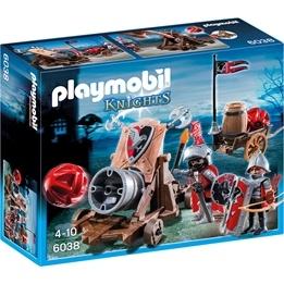 Playmobil Knights, 6038 Hökriddare med stridskanon