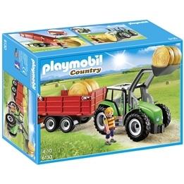 Playmobil Country, Stor traktor med släp