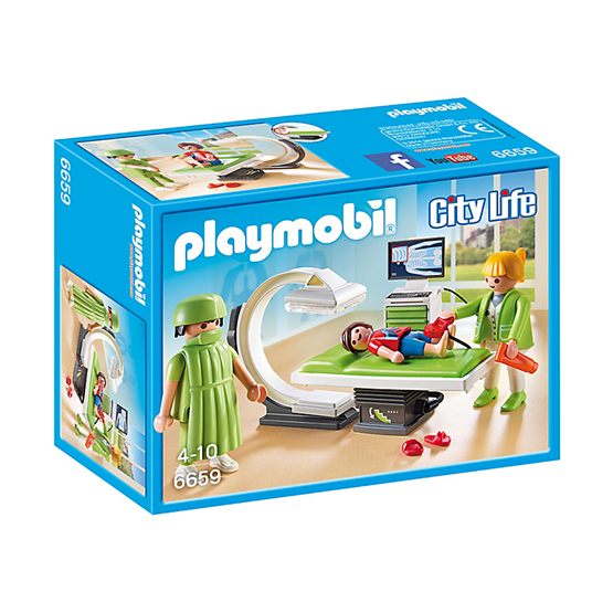 Playmobil City Life, Röntgenrum