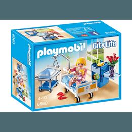 Playmobil City Life, Förlossningsrum med spjälsäng