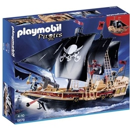 Playmobil Pirates, Piratskepp 6678