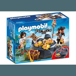 Playmobil Pirates, Skattgömställe med pirat