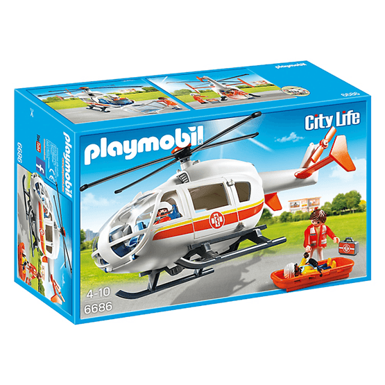 Playmobil City Life, Ambulanshelikopter